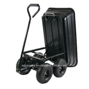 Gorilla Carts Poly Garden Cart pictures & photos