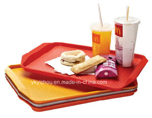 Plastic Fast Food Tray for Restaurant pictures & photos
