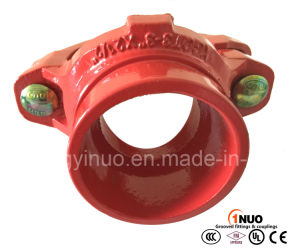 Dutile Iron Grooved Mechanical Tee for Fire Fighting Systems pictures & photos