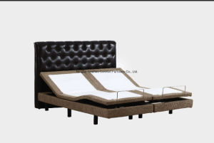 Memory Foam Mattress 2 Single Size Combined King Size Electric Adjustable Bed pictures & photos