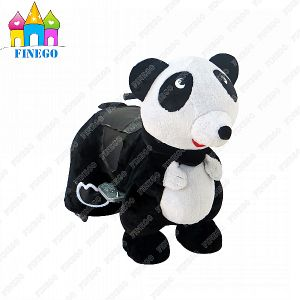 Amusement Electric Panda Zippy Riding Toy Animal Car in Shopping Mall pictures & photos