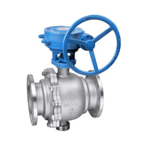 Worm Gear Fixed Ball Valve (Q341F) pictures & photos