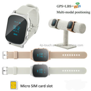 Adults GPS Tracker Watch with Multiple Mode Position (T58) pictures & photos