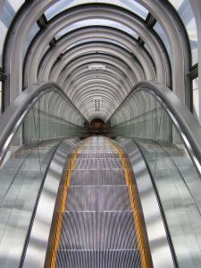 Aksen Escalator Slim Type Aluminium Step Indoor & Outer Type