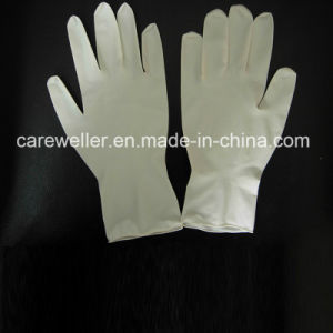 Medical Disposable Latex Examination Gloves pictures & photos