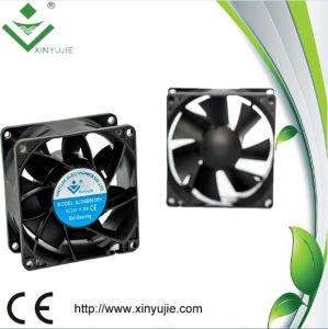 80*80*38mm DC Cooling Fan Made in China 2016 Hot Selling Plastic Fan pictures & photos