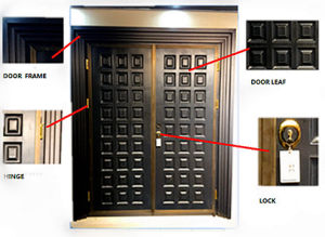 High Quality Entrance Steel Security Door pictures & photos