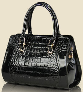 Fashionable Designer PU Leather Tote Hand Bag for Lady (QP411) pictures & photos