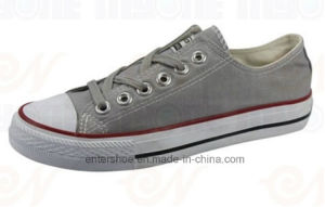 Low Cut Men and Women Vulcanized Shoes (ET-MY170422W)