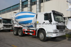 China HOWO Brand 6-16m3 Capacity Concrete Mixer Truck pictures & photos