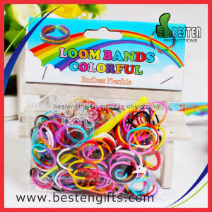 Factory Supplier Cheap Rubber Rainbow Loom Bands