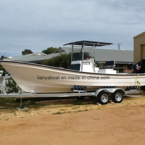 Liya 25ft Fishing Boat Panga Boat Fiberglass Hull Boat for Sale pictures & photos