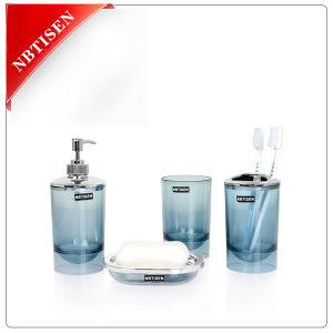 China new design acrylic plastic bathroom set ts 8022 for Bathroom accessories hs code