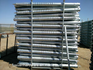 Hot-Galvanized Screw Pile Anchor for Solar Project pictures & photos