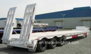 Sinotruk 3 Axle Low Bed Semi Trailer pictures & photos