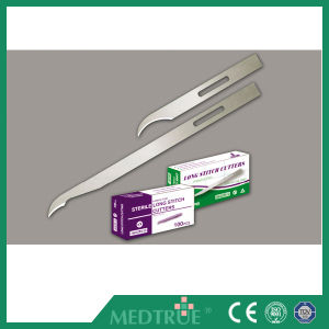 High Quality Medical Disposable Sterile Surgical Blade Stitch Cutter Blade (MT58057002) pictures & photos