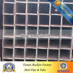 Hot Rolled Square Galvanized Steel Pipe pictures & photos