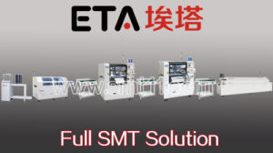 SMT PCBA Production Line Solution (SMT printer+SMT pick and place machine+reflow oven) pictures & photos