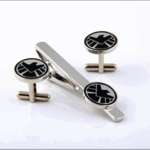 Tie Clip & Cufflink Gift Set, with Custom Logo pictures & photos