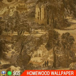 Factory Price Deep Embossed Vinyl Wall Paper pictures & photos