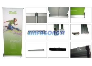 Outdoor Stand Roll up Banner, Custom Exhibition Roll up Banner pictures & photos