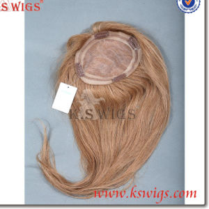Indian Hair Human Hair Top Lace Closure Hair Extension pictures & photos