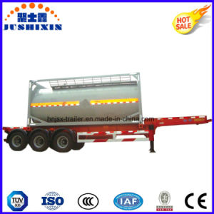T75/T50 Carbon Steel 40FT or 20FT ISO Standard Tank Container with ASME Csc pictures & photos