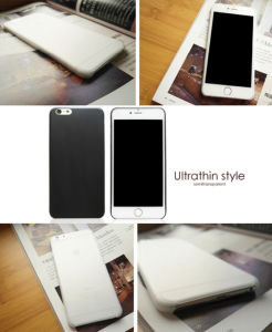 New Ultrathin Semitransparent Polypropylene for iPhone 7 pictures & photos