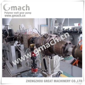 Melt Pump for HDPE Pipe Extrusion Line; pictures & photos