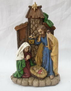 Resin Religious Craft, Resin Nativity Figurine