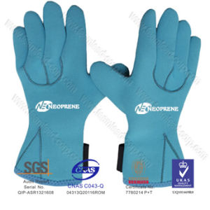 5mm Cr Neoprene Fishing Gloves with Five Fingers pictures & photos