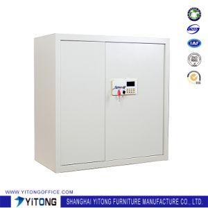2-Door Password Ark Metal Storage Cabinet / Office Use Steel Locker pictures & photos