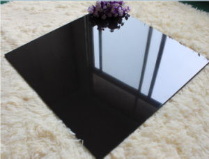 Super White/Black Glossy Porcelain Polished Wall/Floor Tile pictures & photos
