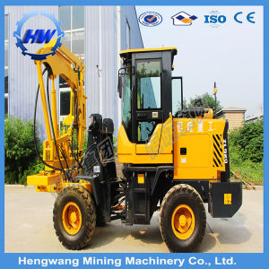 Hydraulic Static Pile Driver, Photovoltaic Installation Pile Driver (HG300-L) pictures & photos