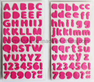 Multicolor Medium Alphabets a~Z, a~Z, 0~9 Foam Stickers for Scrapbooking and Cardmaking pictures & photos