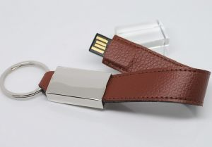 4GB Leather USB Flash Drive (TF-0253) pictures & photos
