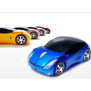 Customizable Logo Promotional Car Shape Wireless Mouse pictures & photos