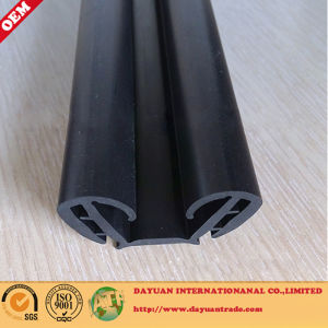 U Flocked Channel, Glass Rubber Seal Strip pictures & photos