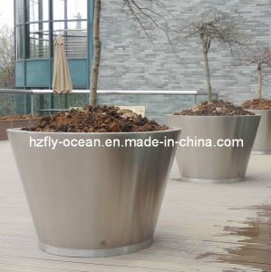 Metal Garden Pots (FO-9042) pictures & photos
