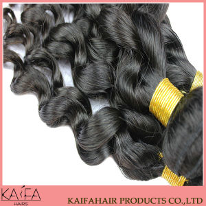 Remy Hair Weft Extension European Virgin Hair (KF-W-282)