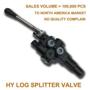 40L 18MPa hydraulic flow control valve for wood cutting machine