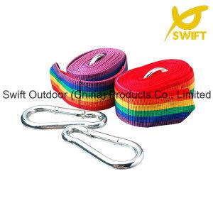 Korean Style PP Woven Rainbow Hammock Strap
