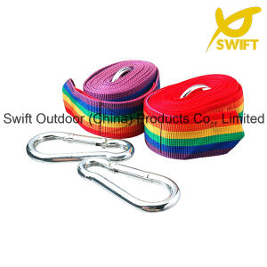 Korean Style PP Woven Rainbow Hammock Strap pictures & photos