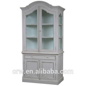Glazed Bookcase with Cupboard pictures & photos