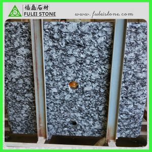 Hot Sale Polished Sea Wave White Granite Countertop