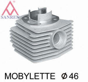 Chrome-Plated Cylinder Mbk46 for Moped pictures & photos