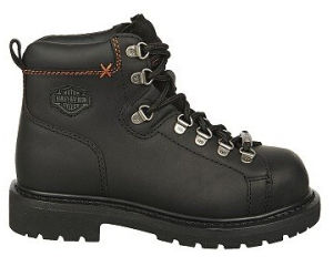 Full Grain Leather Steel Toe Work Boots for Women pictures & photos