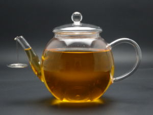 Heat Resistant Clear Glass Teapot Tea Pot with Filter/Infuser900ml for Coffee & Tea