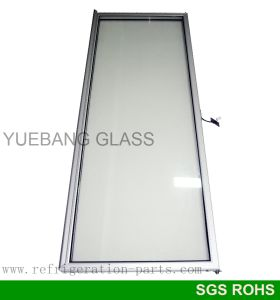 One Piece Aluminum Handle Glass Door for Upright Freezer