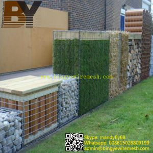 Decorative Welded Gabion Boxes Landscape Garden Edging pictures & photos